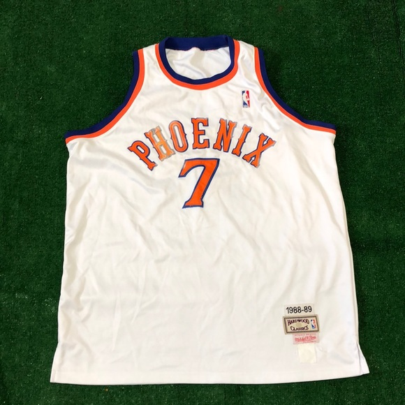 5c6bab1b Mitchell & Ness Shirts | Phoenix Suns Nba Kevin Johnson Mitchell ...